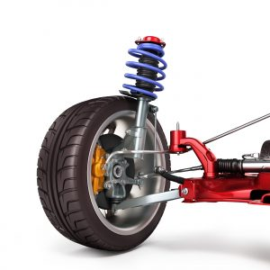 Steering, suspension and wheel bearings