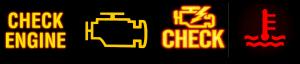 dashboard warnings