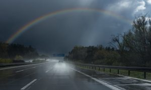 rain-road