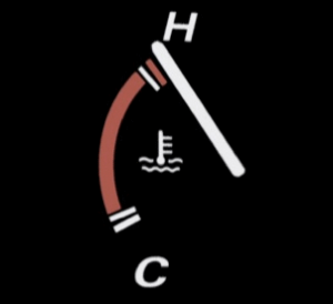 car temperature gauge