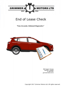 End of Lease Report