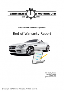 End of Warranty Report