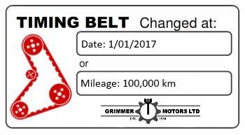 Cambelt / Timing Belt Replacement & Repairs | Grimmer Motors