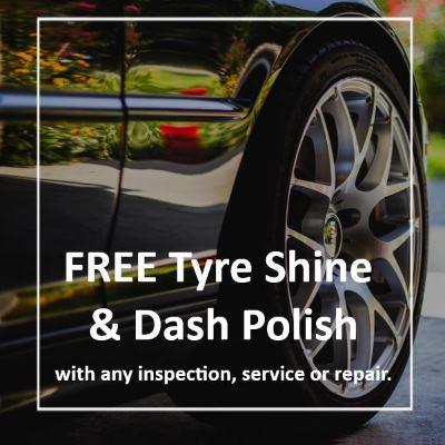Free Tyre Shine
