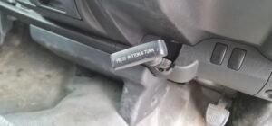 Pull parking brake