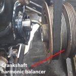 New crankshaft harmonic balancer pulley in Hamilton
