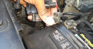 New EGR Solenoid & replacement Hamilton