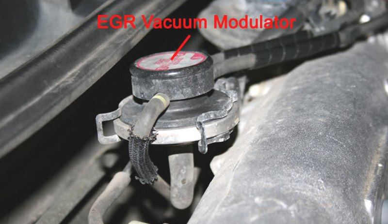 New EGR vacuum modulator in Hamilton