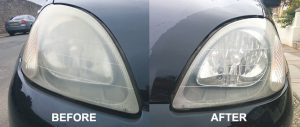 Headlight cleaning and repair Hamilton NZ