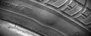 Tyre bulge repairs Hamilton