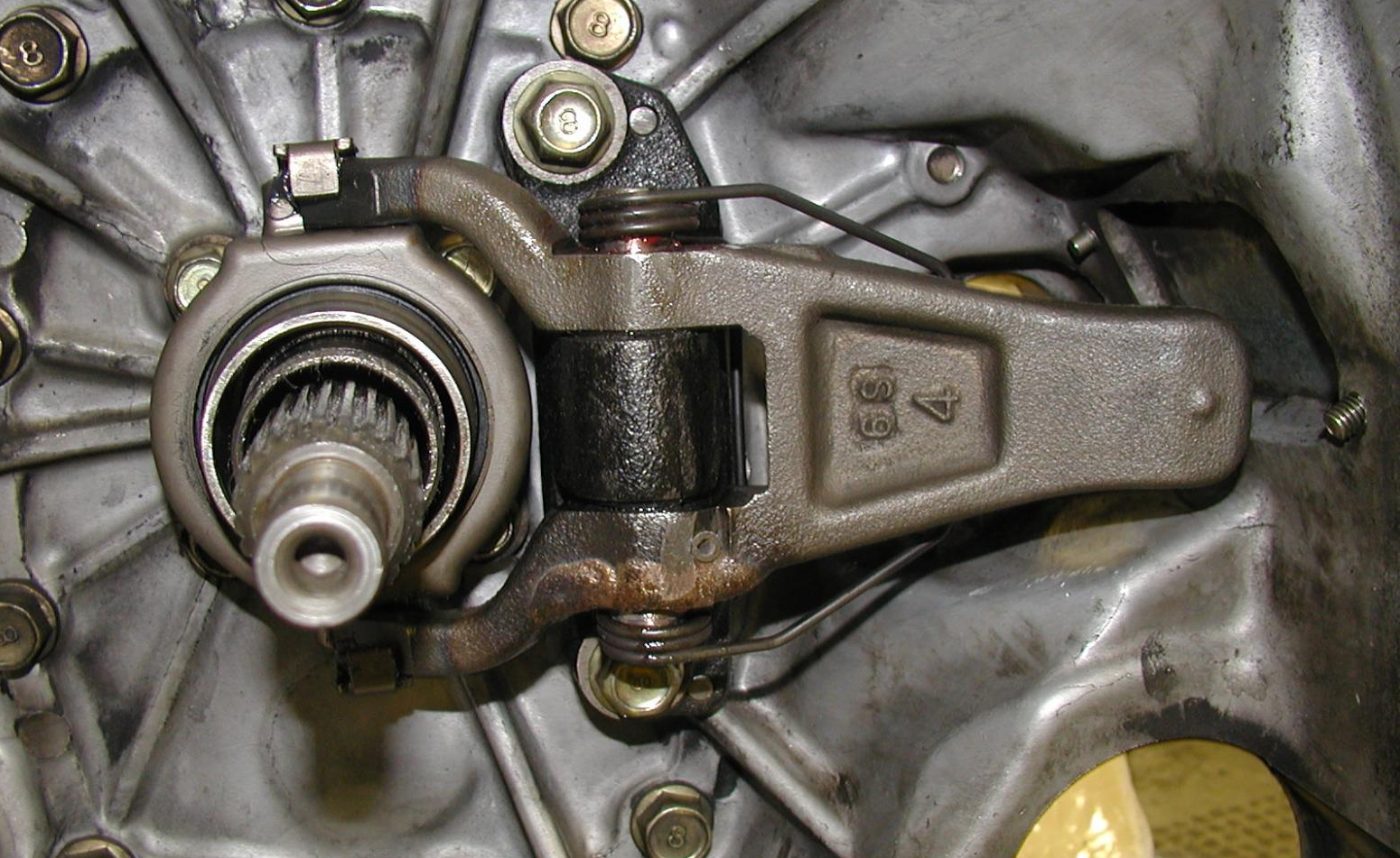 clutch-fork-in-gearbox