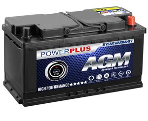New AGM batteries for stop-start cars in Hamilton