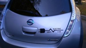 Fully electric car
