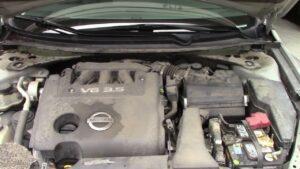 Dirty Car Engine