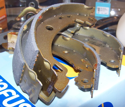 Brake shoe replacement Hamilton