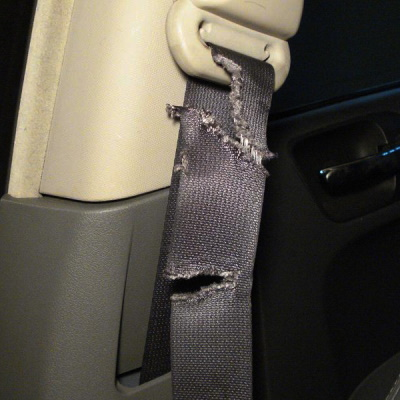 Seatbelt / Safety Belt Rewebbing Service in Hamilton