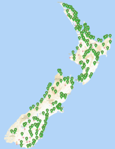 NZ Charging Stations