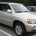 Wikimedia commons Resized Toyota Highlander 2007