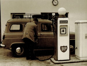 Grimmer Motors used to have Mobil, Atlaantic and BP fuel pumps.