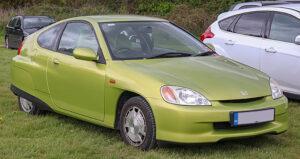green honda insight 2001